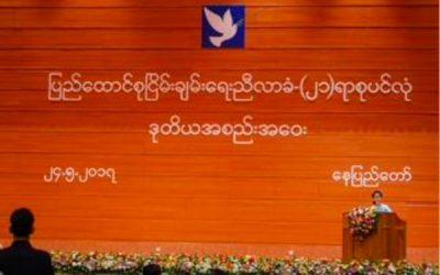 미얀마를 위한 기도2 – 화해와 용서, 사랑으로 하나되는 나라 되게 하소서.